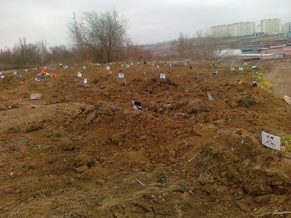 На Северном городском кладбище