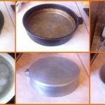 Как отчистить старую сковородку