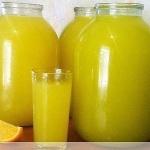 Рецепт оранжада