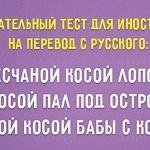 12 любопытных фактов о русском языке