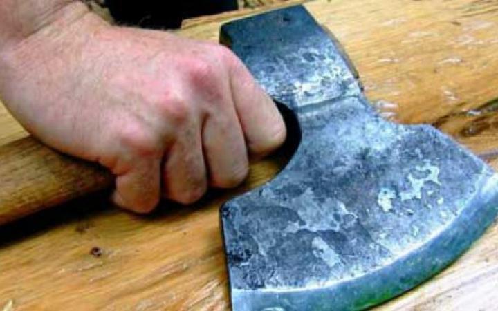 ВРостовской области пенсионер попытался уничтожить тесаком супругу