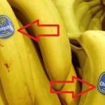 Фрукты-убийцы. Какие страшные тайны хранят наклейки на бананах