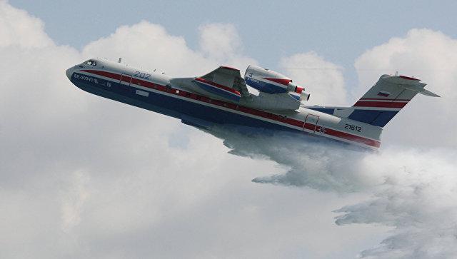 Бе-200ЧС таганрогской сборки совершил первый полет