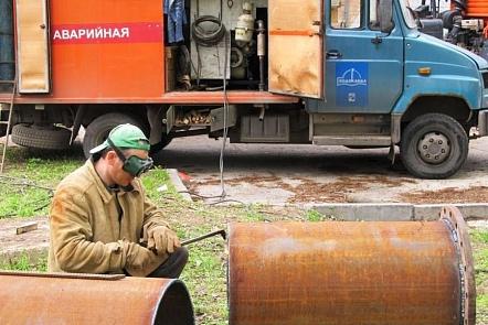 Центр Ростова остался без воды из-за порыва наводоводе