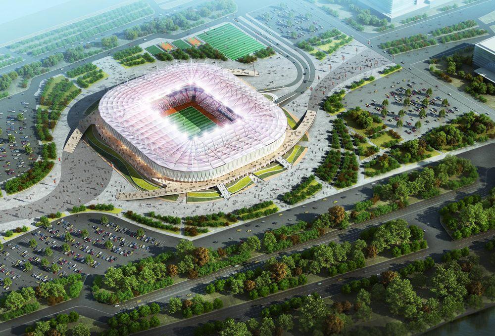 Готовность стадиона Ростов-Арена составляет порядка 70 процентов. Об этом сегодня рассказали в пресс-службе губернатора области
