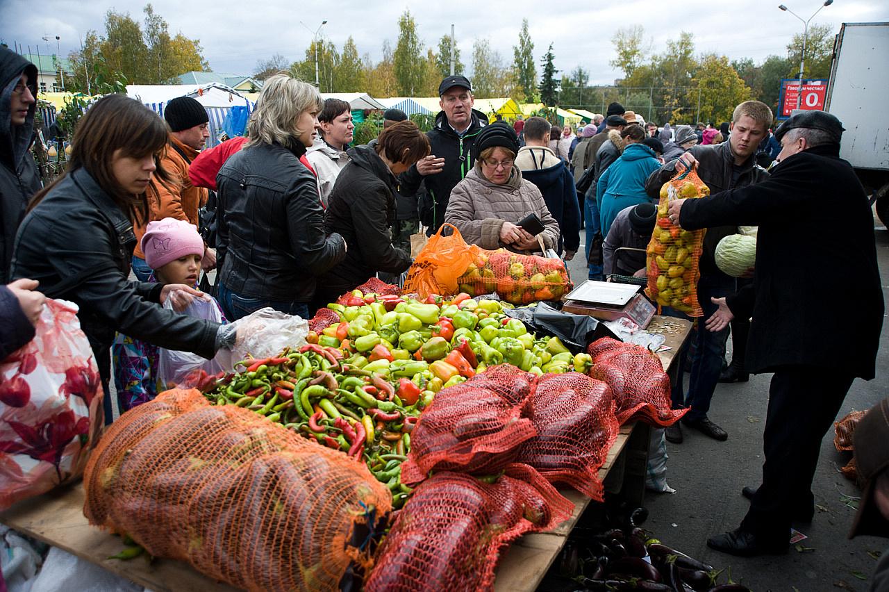 Продовольственные ярмарки пройдут вРостове, Новочеркасске иТаганроге
