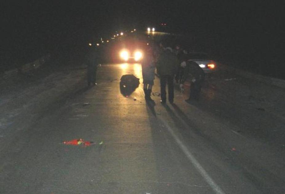 25-летний шофёр насмерть сбил 2-х пешеходов вКаменском районе