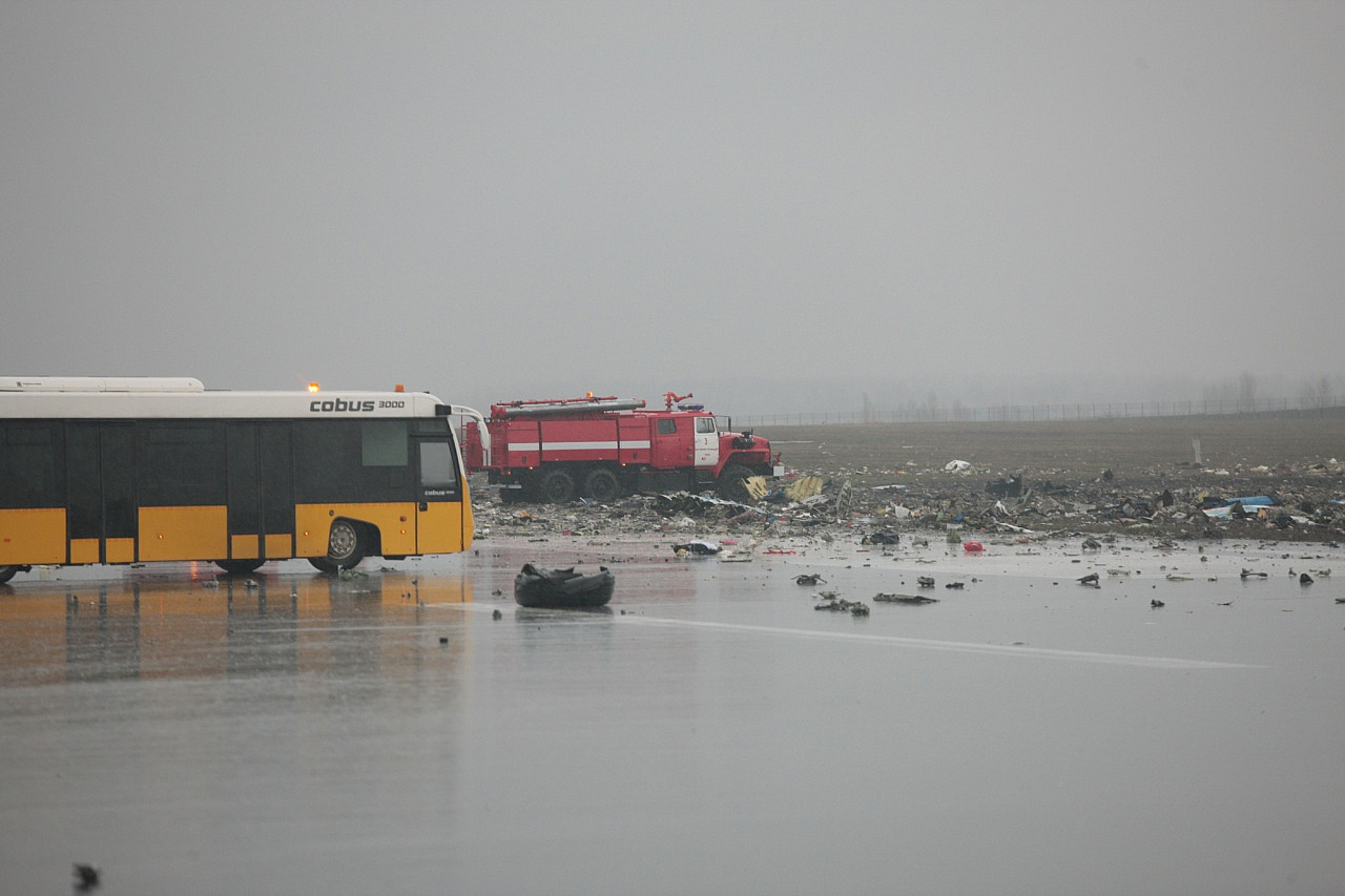 Самолет FlyDubai разбился из-за ошибки пилота— специалисты