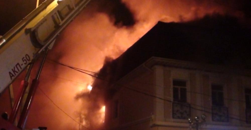 ВРостовской области горела редакция газеты «Рассвет»