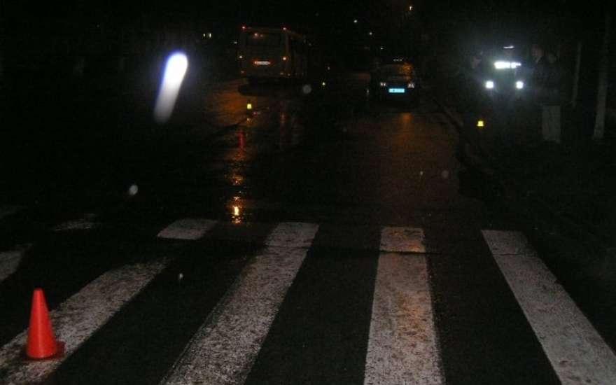 ВРостовской области рейсовый автобус насмерть сбил женщину