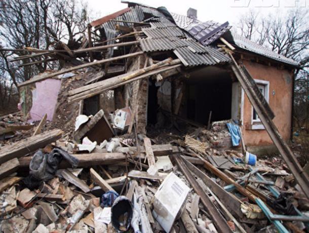 ВРостовской области в итоге взрыва газа вдоме пострадали три человека