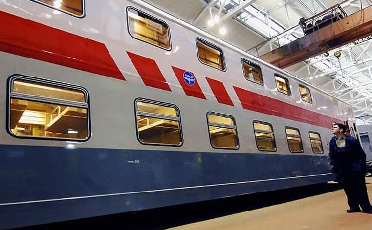 Намаршруте Ростов-Адлер появится двухэтажный поезд