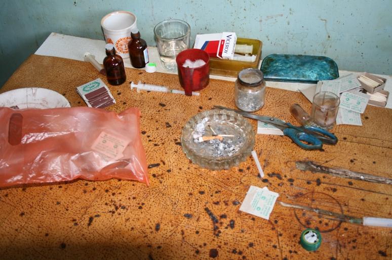 Наркопритон, где изготовляли дезоморфин, устранили вРостовской области