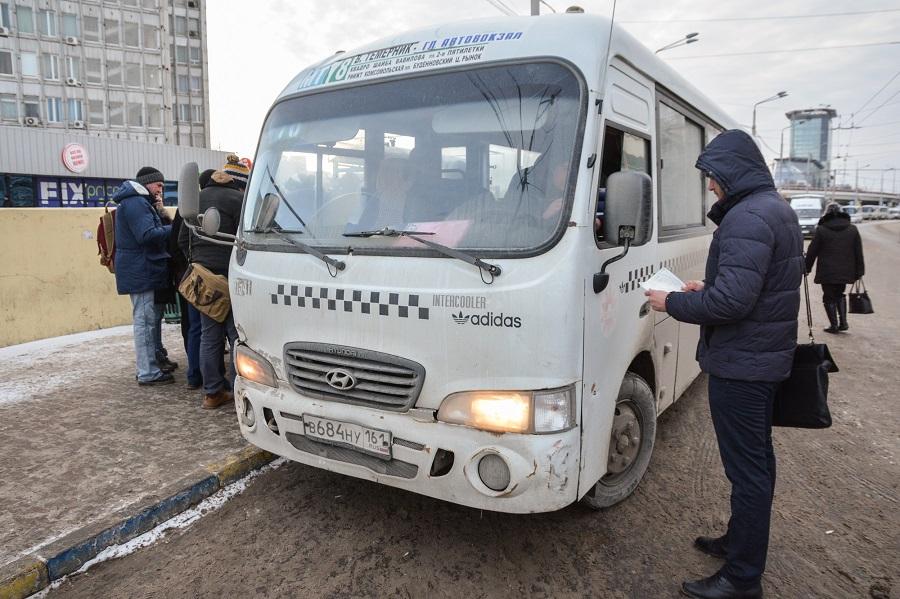Основное большенство автобусов имаршруток чистые, считают ростовские власти