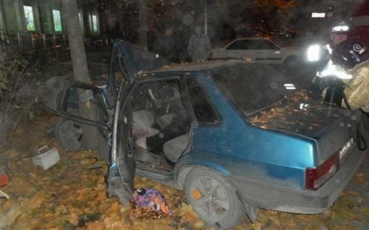 ВМартыновском районе шофёр  врезался вдерево и умер