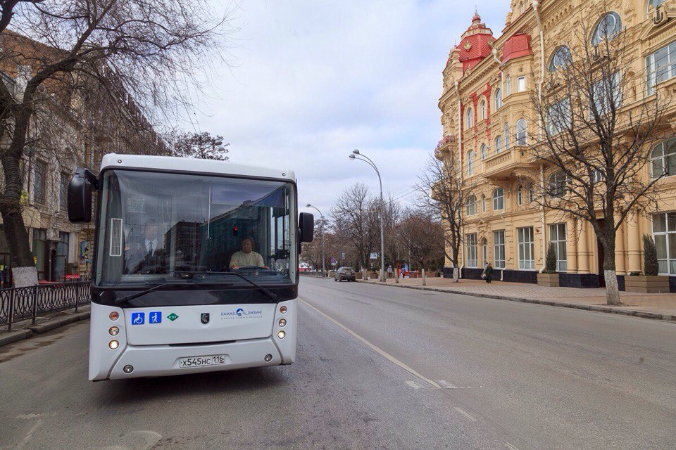 Ростов получит 50 новых автобусов нагазомоторном горючем
