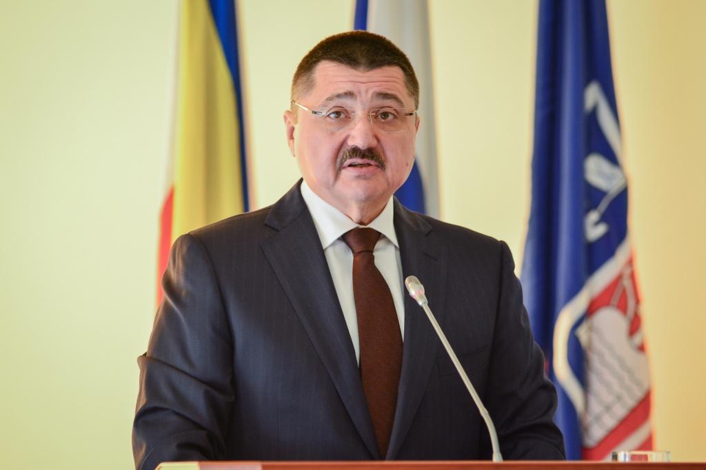 Изадминистрации Ростова пособственному желанию уволился главный казначей