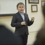 В Ростове 9-летний вундеркинд читает студентам лекции по истории