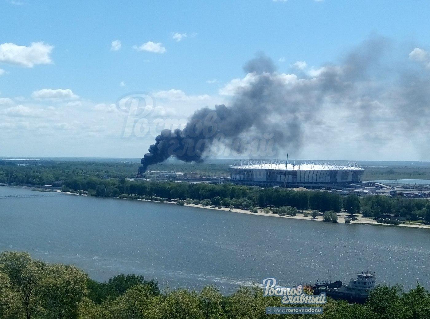 ВРостове-на-Дону загорелась трансформаторная подстанция