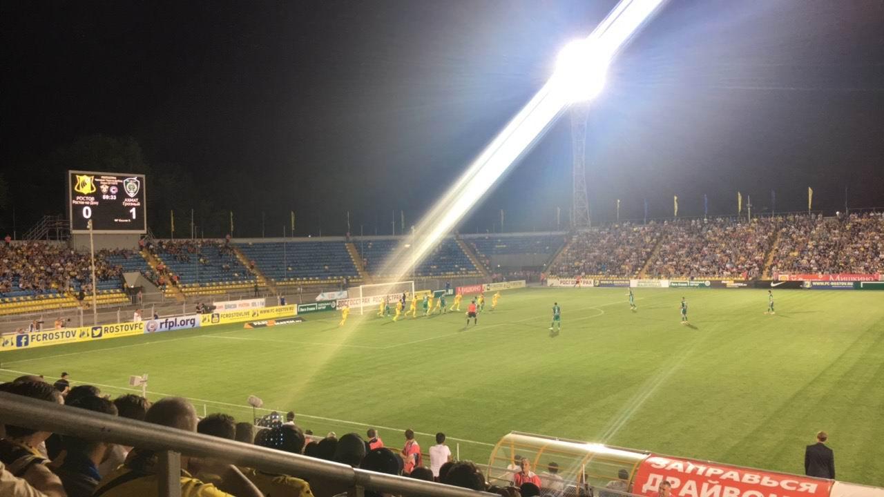 «Ахмат» навыезде обыграл «Ростов»