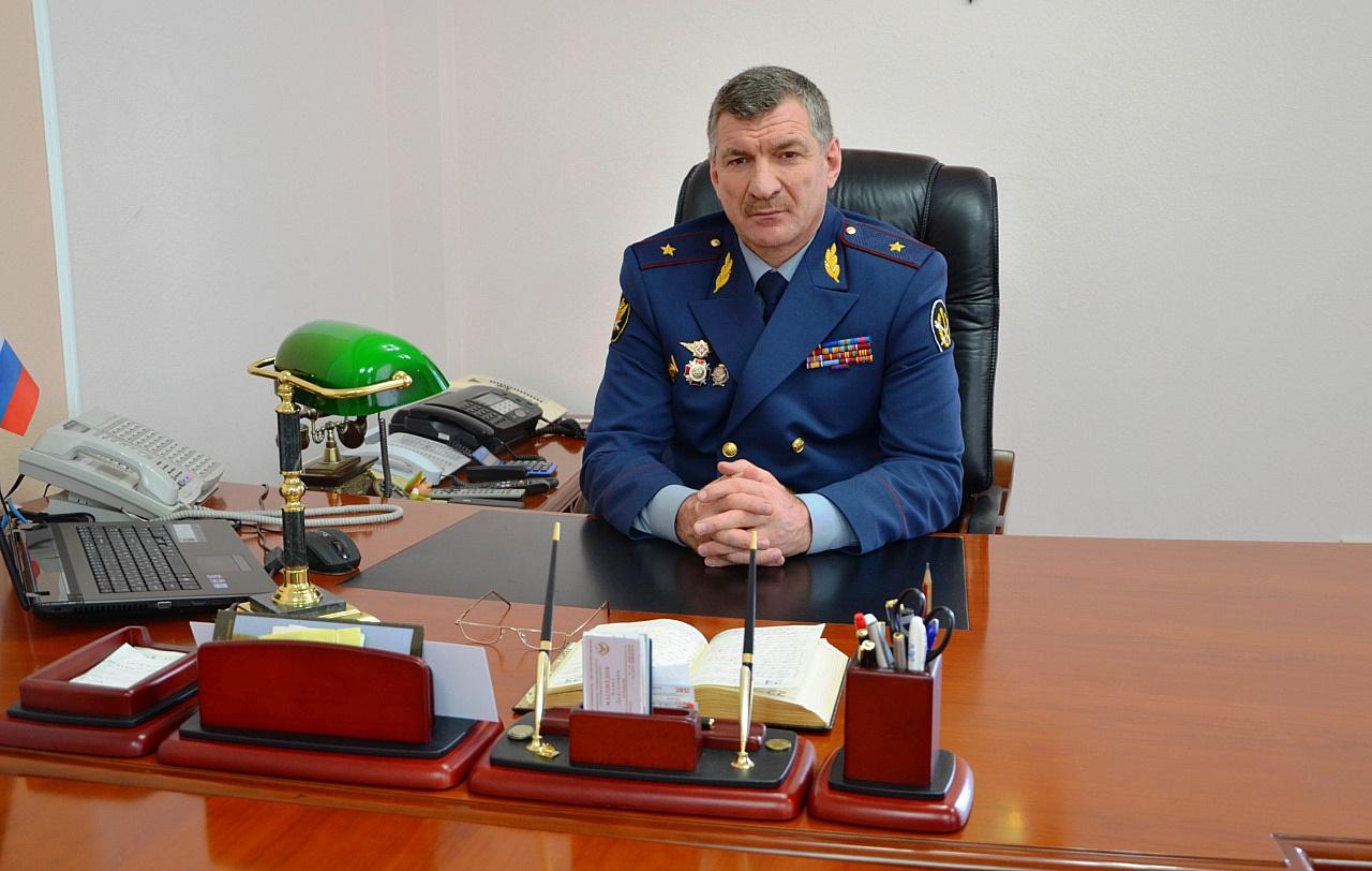 5665 Назначен временно исполняющий обязанности начальника ГУФСИН поРостовской области