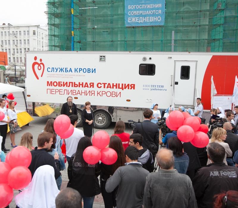 ВРостове сдадут кровь для онкобольных детей