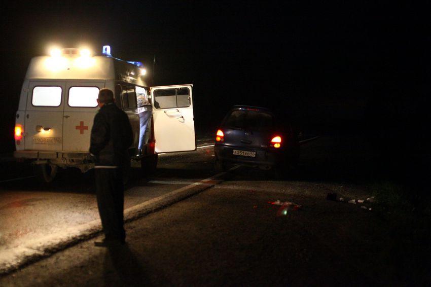Натрассе вРостовской области шофёр «Лады» врезался вотбойник иВАЗ