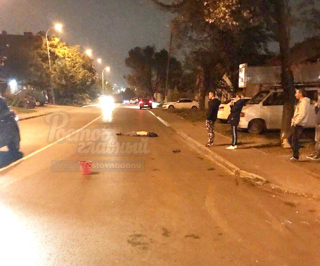 ВРостовской области шофёр иномарки насмерть сбил женщину навелосипеде
