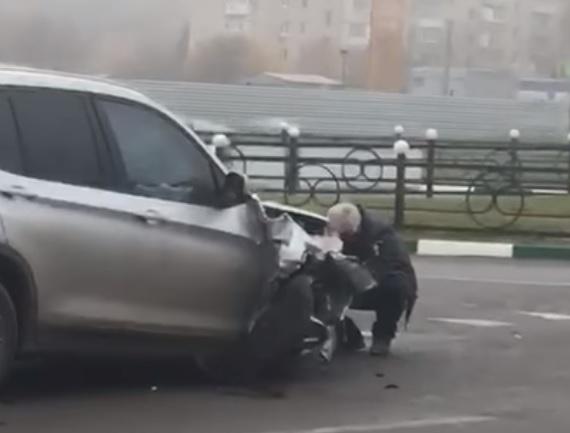 Нетрезвый  судья на БМВ  устроил ДТП ипоменял номера— Ростовское правосудие