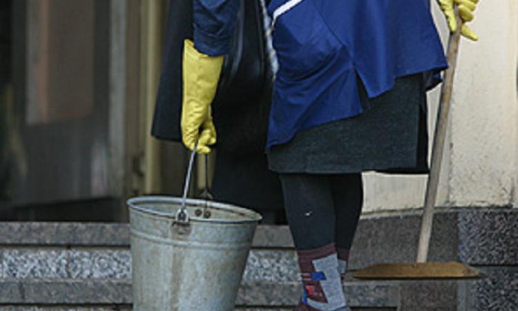 уборщицы фото пожилой