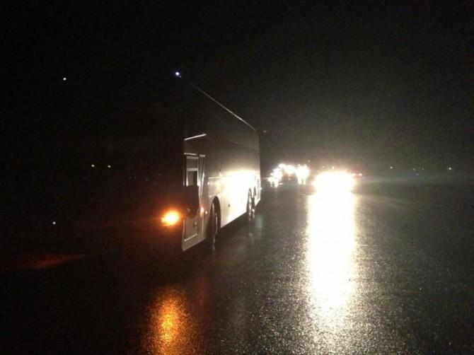 Натрассе вРостовской области автобус насмерть сбил мужчину
