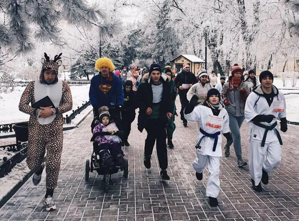 Спортивное начало года: ростовчан приглашают нагородской забег 1января