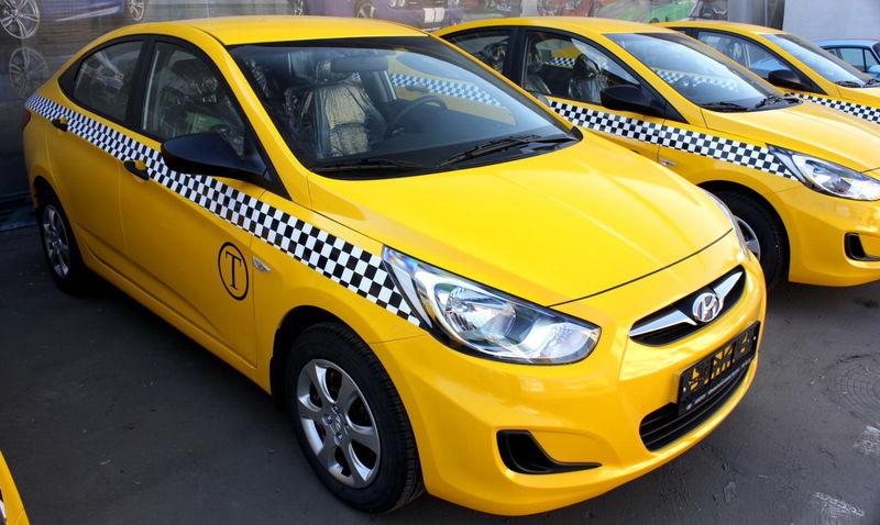 Снового года вРостовской области все такси станут белыми либо желтыми