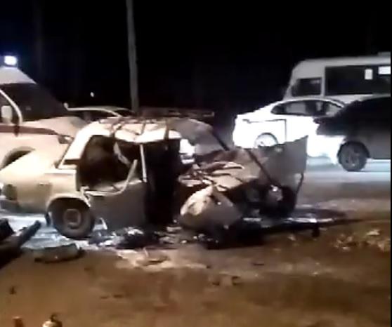Мужчина с сыном погибли вДТП вРостове