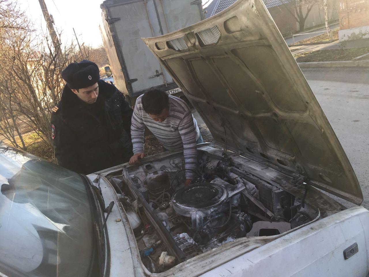 Росгвардейцы предотвратили взрыв автомобиля вРостове