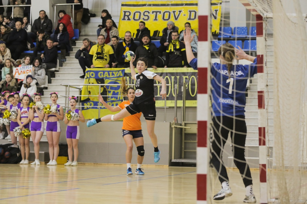 «Ростов-Дон» одержал победу вматче чемпионата Российской Федерации погандболу