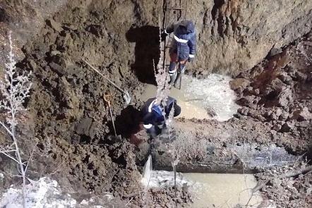 Авария оставила без воды 5 районов Ростова