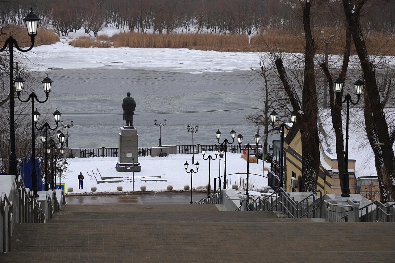 Завершена реконструкция Казанской лестницы вРостове