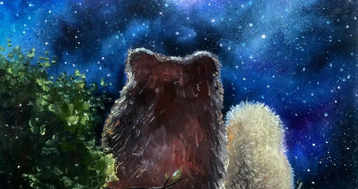 декоративные открытка ежик с медвежонком тот момент снималась