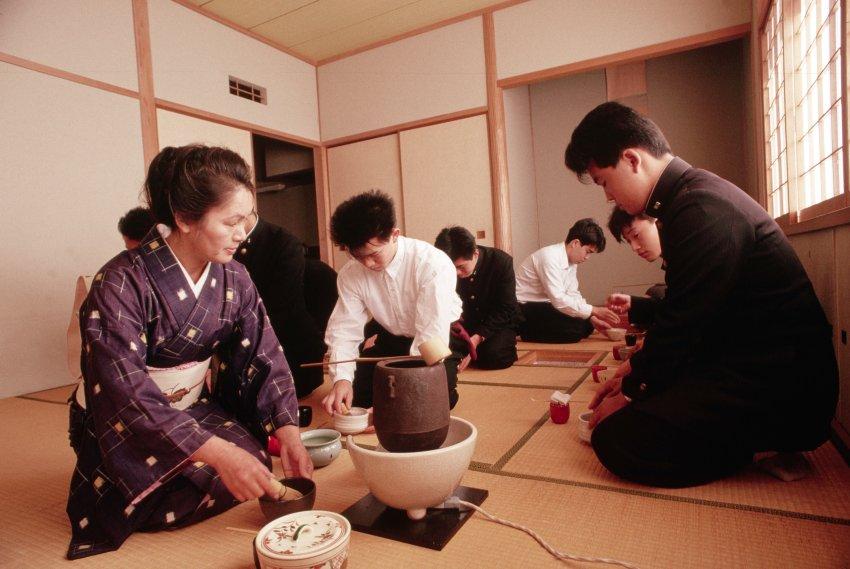 Картинки японский этикет